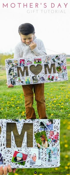 This Mother's day gift is the perfect gift for any mom!! PLUS it'll look beautiful on her wall.