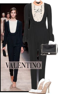 """""""Valentino Spring 2013"""" by kmp11 ❤ liked on Polyvore"""