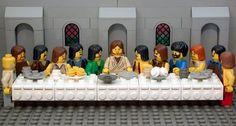 The Last Supper (via The Brick Testament)