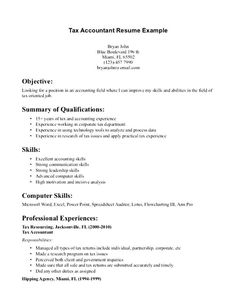 Accounting Resume Tips Gorgeous Senior Accountant Resume Template Financial Sample For  Home Design .