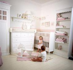 pink and cream nursery