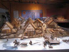 Birka town model - Birka