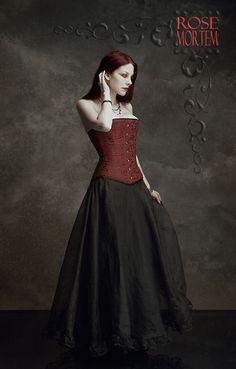 Romantic Gothic Skirt: Chryseis Skirt by Rose Mortem