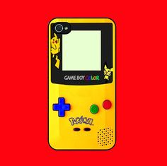 Personalized iPhone 4 case iPhone 4s case  by handmadegreat, $8.99 Oh the hours I punched playing this specific GameBoy : ) Switching between Blue, Red & Gold versions of the game with cheat book by my side. Good times!
