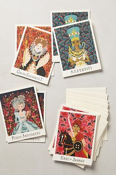 Classic Queens Stationery Set #anthropologie http://www.anthropologie.com/anthro/product/home-new2/32758203.jsp?cm_sp=Grid-_-32758203-_-Regular_75#/