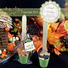 Halloween Couldron Hot Chocolate Spoon - click to enlarge