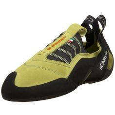Scarpa Vapor S Climbing Series Shoe Scarpa. $118.95. Suede and textile. Blended upper for balance performance. Vibram sole. Vibram XS Grip 2 makes these shoes the stick like glue