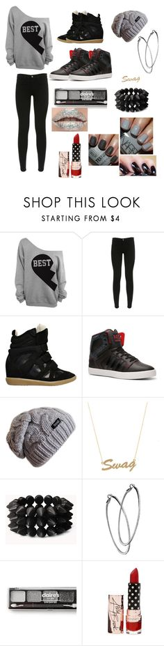 """Swag"" by bae1027 ❤ liked on Polyvore featuring J Brand, Isabel Marant, adidas, Bianca Pratt, Forever 21, Mystic Light and claire's"