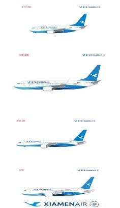 XiamenAir fleet