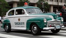 1948 Chevrolet Fleetline sheriff car