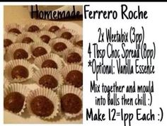Must try these. You can replace Weetabix with Shredded Wheat.
