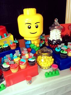 Lego/Car Racing Birthday Party 2014 By: Ivette