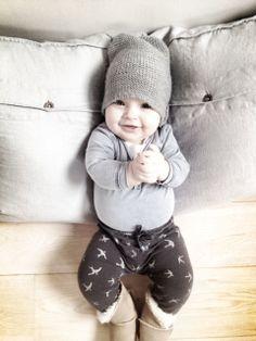 Schattige baby stijl