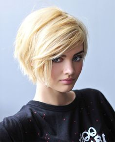 shaggy pixie cut round face - Google Search