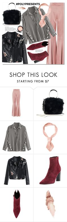 """#PolyPresents: Fancy Pants"" by duma-duma ❤ liked on Polyvore featuring Topshop, Kendall + Kylie, Maybelline, MAC Cosmetics, contestentry and polyPresents"