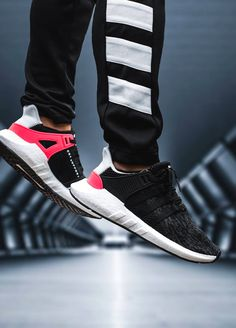 Adidas EQT Support 93/17 - Turbo Red/Black - 2017 (by inbentiveminds)