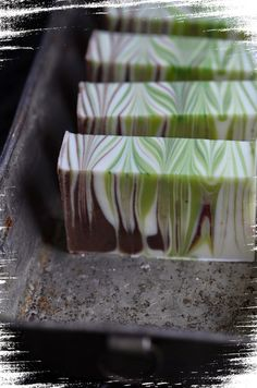 Winter Forest Homemade Christmas Soap Recipe