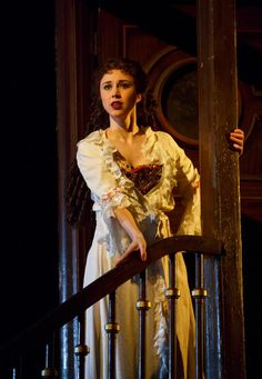 Miss Christine Daae {Samantha Hill- totes saw her on broadway and so glad I did. She brilliant.}