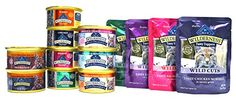 Blue Buffalo Wilderness Cat Food Variety Sampler Box - 13 Items - 4 Classic Flavors, 3 Wild Delights Flavors, 2 Rocky Mountain Recipe Flavors, & 4 Wild Cuts Tasty Toppers Pouch Flavors - 3 oz Each - http://www.petsupplyliquidators.com/blue-buffalo-wilderness-cat-food-variety-sampler-box-13-items-4-classic-flavors-3-wild-delights-flavors-2-rocky-mountain-recipe-flavors-4-wild-cuts-tasty-toppers-pouch-flavors-3-oz-each/
