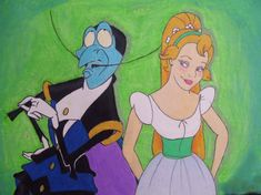 Thumbelina and the Beetle by imperviousbriarpatch.deviantart.com
