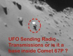 UFO SIGHTINGS DAILY: NASA Records Radio Signals Coming From Comet 67P For Over 20 Years! Sept 2014 UFO Sighting News. #ufosighting #ufo #sighting #history