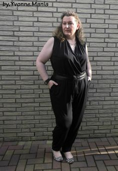 by.Yvonne.Mania Plus Size Jumpsuit
