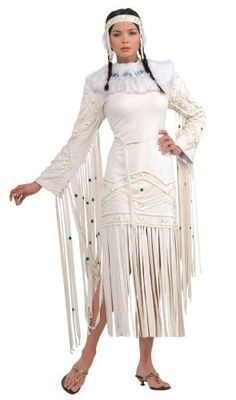 Native design wedding dress deer elk hide custom made doeskin ...