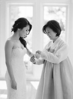 "We may be approaching winter in a matter of weeks but this wedding designed by So Happi Together has me dreaming of sunny spring days. It strikes the perfect balance of modern and timeless, with thoughtful nods to the couple's Korean heritage. ""Both our moms wore traditional Korean dresses, called Hanbok, that were color coordinated and held hands while walking down the aisle,"" said the bride. Watch it all unfold in the gallery by Esther Sun.  Photography : Esther Sun  Read"