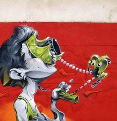 Wonderful Street Art and Graffiti Designs