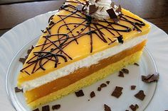 Multivitamin-Torte - List of the best food recipes Gourmet Recipes, Bread Recipes, Cake Recipes, Snack Recipes, Snacks, Torte Au Chocolat, German Cake, Cheesecake, Eggplant Dishes