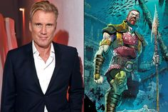 #RockyIV alum #DolphLundgren will be joining  as #Nereus with #JasonMomoa and #AmberHerd in the upcoming #DCExtendedUniverse movie #Aquaman.