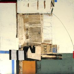 Charlotte Foust, Trajectory, Mixed Media on Canvas