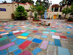 sculpture in spanish village art center balboa park - Google Search