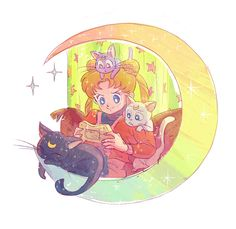 LALLWORTER (Part 3: the cats, Naru and the Starlights. And...)