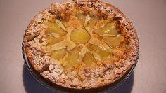 Platte peren-amandeltaart - Rudolph's Bakery | 24Kitchen