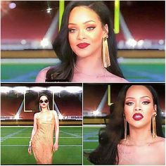 Rihanna for SuperBowl 2016 and Grammy commercial
