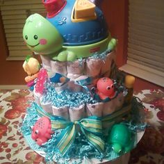 Ocean theme baby shower gift