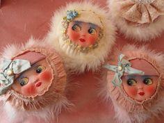 Cute Hand-made Powder Puff Girls ....