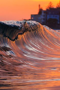 Evening Waves  by Lucas James