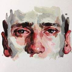 Acrylic study by Elly Smallwood Art Sketches, Art Drawings, Pencil Drawings, Elly Smallwood, Art Watercolor, Arte Sketchbook, Portrait Art, Portraits, Portrait Acrylic