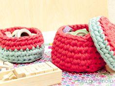 Cestos de trapillo Straw Bag, Baby Shoes, Kids, Bonbon, Crochet Baby, Bushel Baskets, Notebooks, Trapillo, Young Children