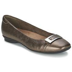 Buy CANDRA GLARE Metallic #clarkshoesuk, please ballerinas lovers looking for a trendy style -  £ 37.49