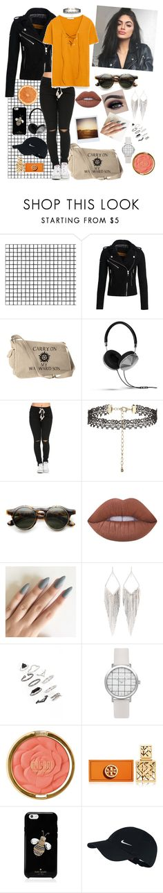 """I Write Sins Not Tragedies"" by lisajorlen ❤ liked on Polyvore featuring Superdry, Frends, New Look, ZeroUV, Lime Crime, Polaroid, Jules Smith, Topshop, Milani and Tory Burch"