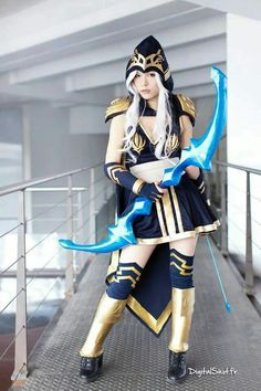 League of Legends - Ashe cosplay