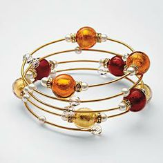 Murano Glass Bead Bracelet from RedEnvelope.  Mother's Day is just around the corner...