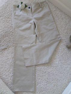 BURBERRY BRIT WOMENS TROUSER PANTS ITALY 38~WOMENS DRESS CASUAL PANTS 4~90% NEW #BURBERRY #DressPants