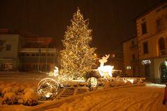 Sarnico,centro città gli addobbi natalizi www.centrostoricosarnico.it