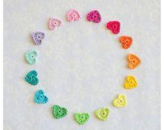 Mercerised Cotton Yarn in one each of 12 Rainbow by PlanetPennyUK