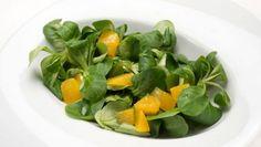Receta de Ensalada de canónigos y naranja