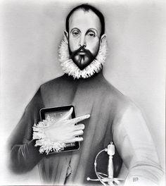 Cervantes | Omar Abud Pintor Mexicano